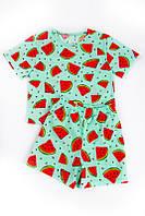 Детская и подростковая пижама 100%хлопок! АРБУЗ Рост: 98, 104, 116, 122