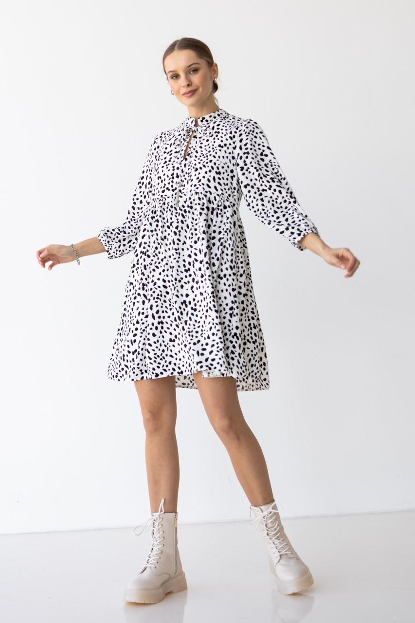 Модное свободное платье 44,46,48 размер