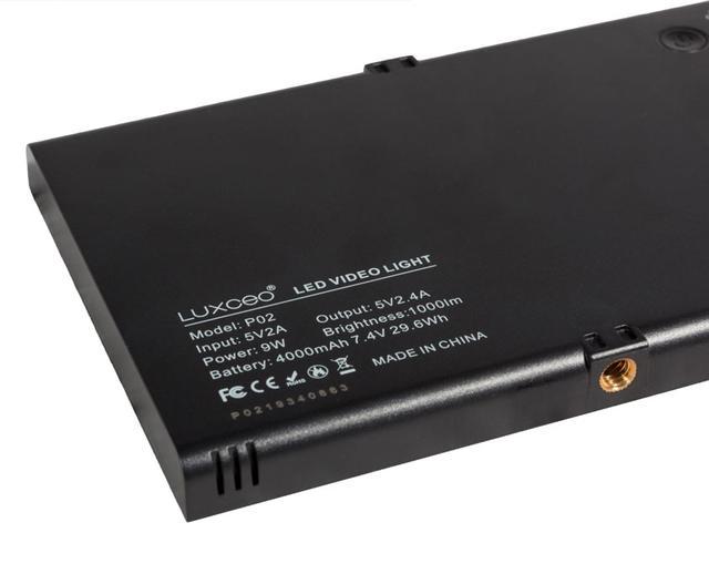 Видеосвет, LED панель LUXCEO P02 1/4 різьба