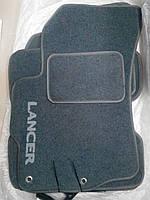 Текстильные коврики на Mitsubishi Lancer X