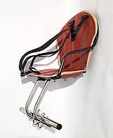 Велокресло детское на женскую раму, металлическая основа