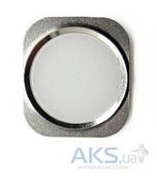 Кнопка Apple iPhone 6 возврата в главное меню (кнопка Home) Silver