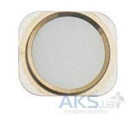 Кнопка Apple iPhone 6 возврата в главное меню (кнопка Home) Gold