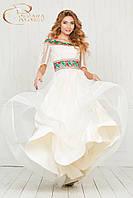 Сукня весільна, вишивка, фото 1