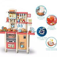 Большой детский игровой набор Кухня с посудой и аксессуарами