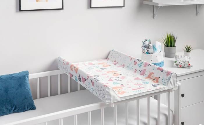Пеленальная доска для кроватки Ceba Baby (80x50 см) Польша, фото 2