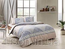 Комплект постельного белья полуторный размер TAC ранфорс TALIA MINT