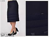Трикотажная женская юбка  Размеры : 50\52\54\56\58\60, фото 6
