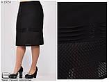 Трикотажная женская юбка  Размеры : 50\52\54\56\58\60, фото 5