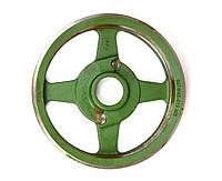 Шків великий (колесо) на 4 ременя косарки роторної 1,65 м (Rolmus, Польща) (5036/02-018)