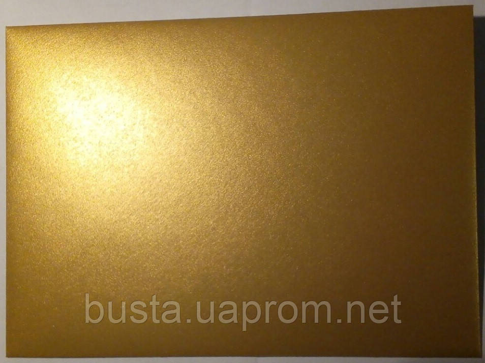 Конверт С6 золото, металік 125гр