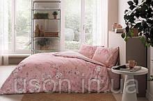 Комплект постельного белья полуторный размер TAC ранфорс JULLIAN PEMBE