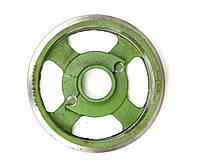 Шкив большой (колесо) на 4 ремня косилки роторной 1,35 м (Rolmus, Польша) (5070/02-019), фото 1