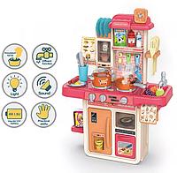 Кухня детская игровой набор с посудой и аксессуарами 42 шт.