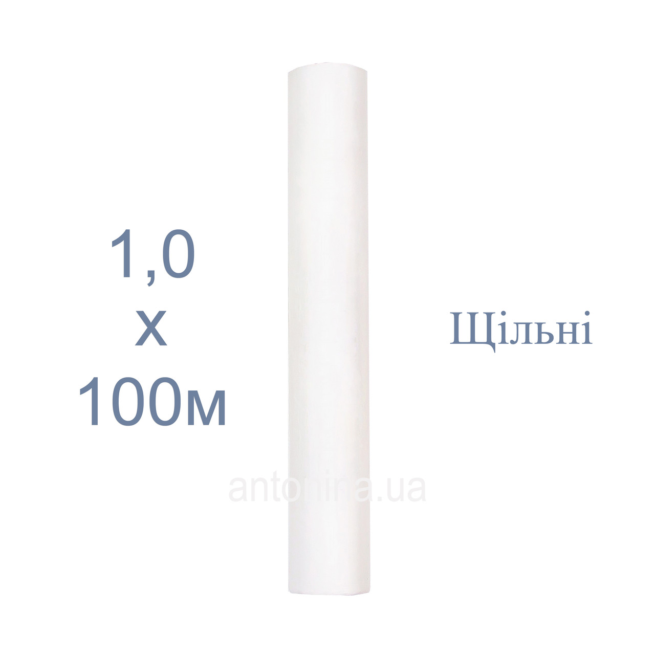 """Одноразові простирадла білі 1,0х100м щільні, ТМ """"Антоніна"""", спанбонд"""