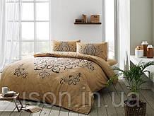 Комплект постельного белья полуторный размер TAC ранфорс BLANDA GOLD