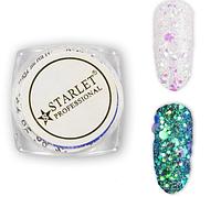 Втирка для ногтей блестки Брокат STARLET Glitters