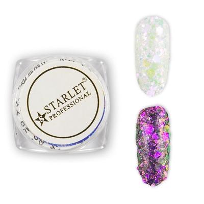 Втирка для нігтів блискітки Брокат STARLET Glitters