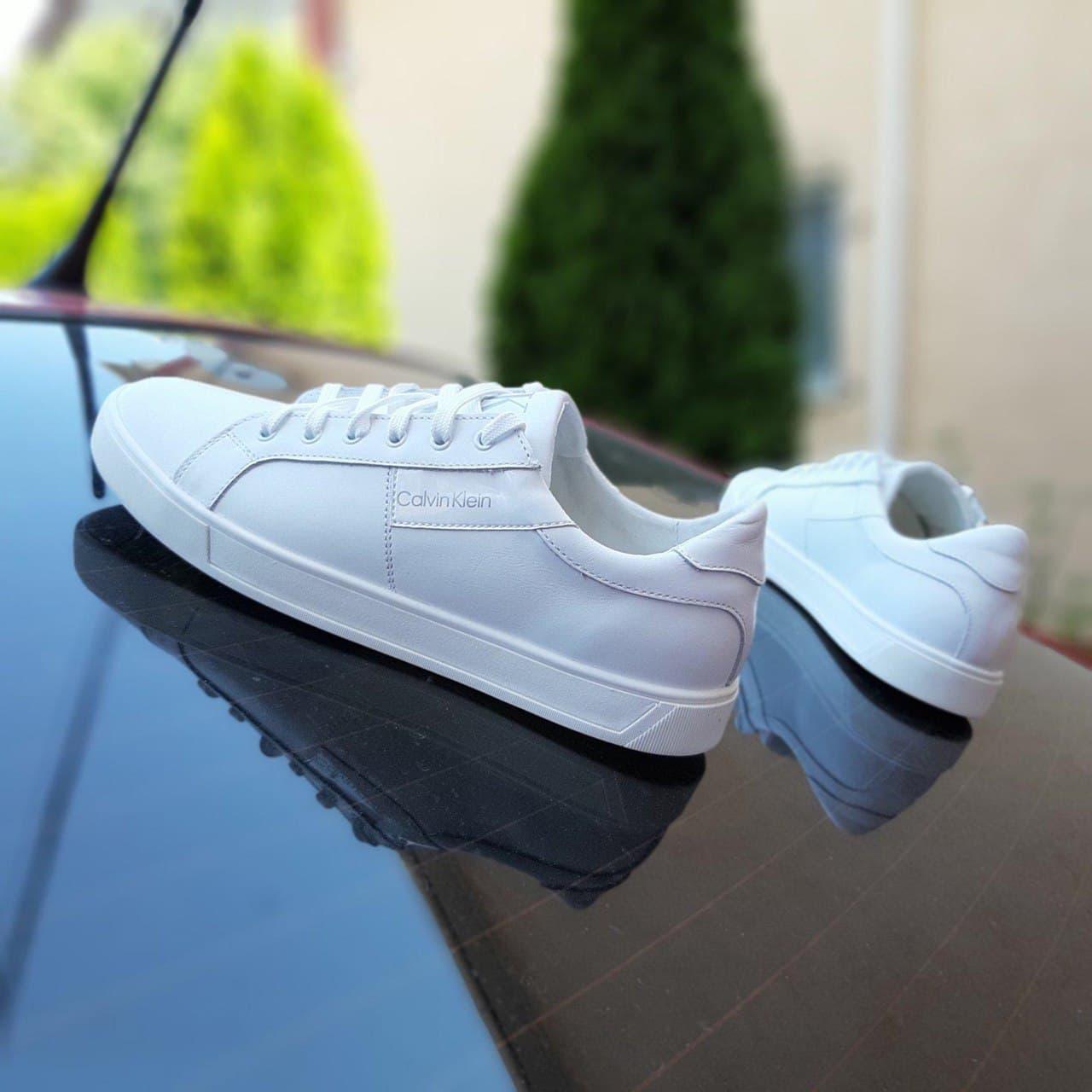 Кросівки C Klein білі шкіра натур ТОП 40-45р.
