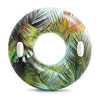 Надувной круг с ручками Intex 58263 Tropic