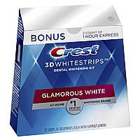Отбеливающие полоски Crest 3D Whitestrips Glamorous White, 32 шт