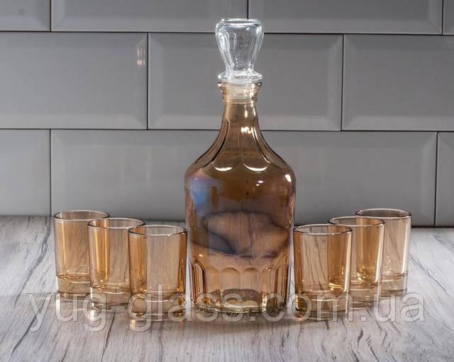 Набор графин и 6 рюмок для водки