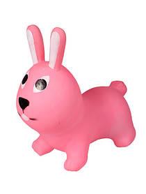 Прыгун резиновый Кролик серый Розовый