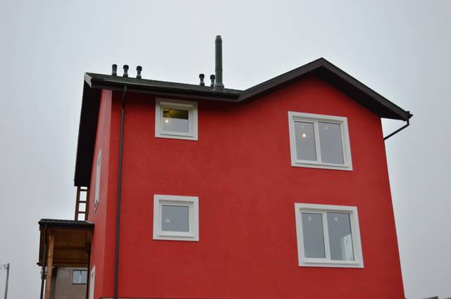 Система вентиляция каркасного дома.