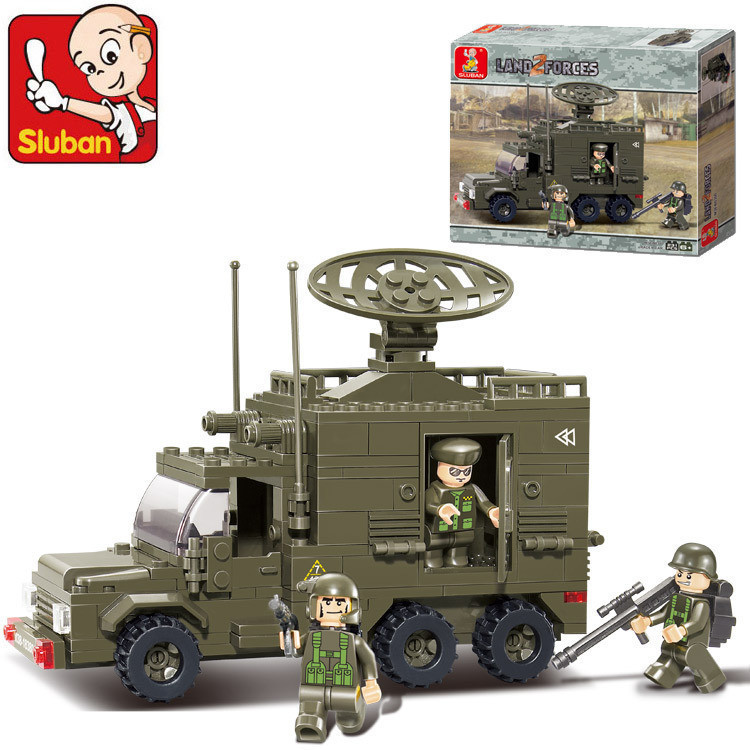 Конструктор Сухопутные Войска Sluban M38-B0300, 230 дет.