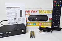 World Vision T624 M2 цифровой эфирный DVB-T2 тюнер