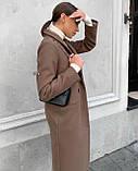 Пальто женское кашемировое демисезонное, фото 2