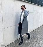 Пальто женское кашемировое демисезонное, фото 5