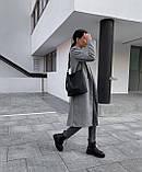 Пальто женское кашемировое демисезонное, фото 3