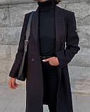 Пальто женское кашемировое демисезонное, фото 8