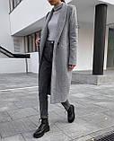 Пальто женское кашемировое демисезонное, фото 4