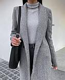 Пальто женское кашемировое демисезонное, фото 9