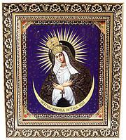 Икона Пресвятой Богородицы «Остробрамская» (багет)