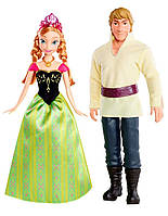 """Куклы Disney Frozen Anna and Kristoff Анна и Кристоффер """"Холодное сердце"""""""