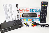 World Vision T624 D2 цифровой эфирный DVB-T2 тюнер