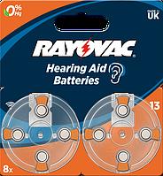 Батарейка Rayovac 13 BLI 8 шт