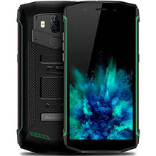 Защищенный  смартфон Blackview BV5800 green +32GB с  батареей  5580mAh