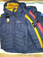 Детская куртка трансформер Чимпион для мальчика 7-15 лет демисезонная