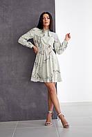 Легке плаття з софта сіре, фото 1