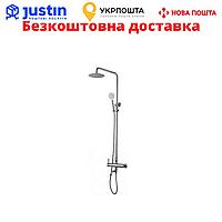 Смеситель для ванны с душевой стойкой ZEGOR (TROYA) FOB16-A134