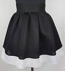 Юбка на девочку 116 см, черный