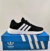Кроссовки Adidas Женские Черные Адидас BOOST (размеры: 36,37,38,39,40,41) Видео Обзор