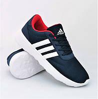 Мужские кроссовки Adidas Boost Адидас синие (размеры: 41,42,43,44,45) Видео Обзор