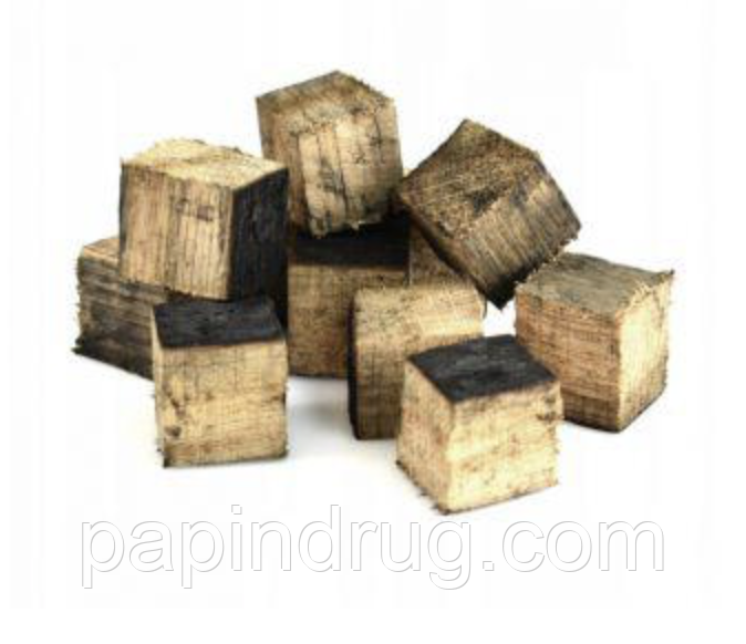 Дубовые кубики, из бочек из под хереса 50гр