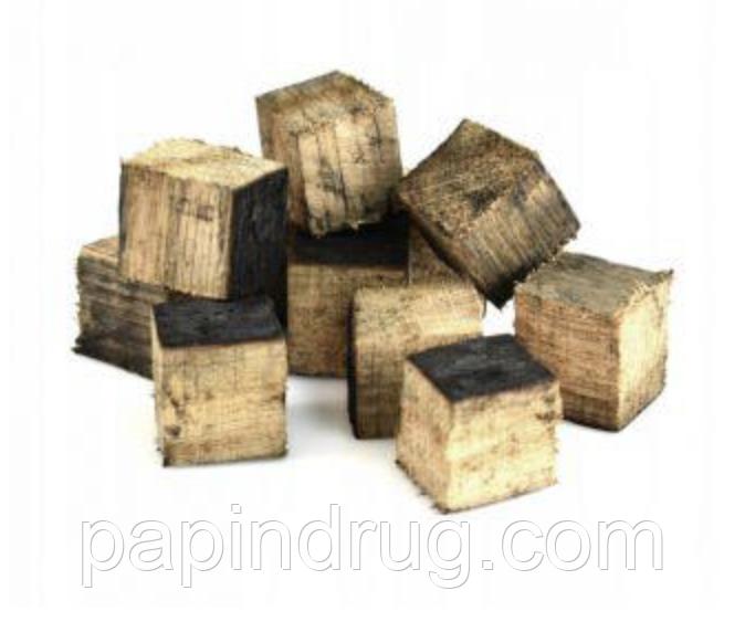 Дубовые кубики, из бочек из под бурбона 50гр
