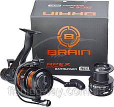 Катушка Brain Apex Double Baitrunner 4000 6+1BB 5.2:1